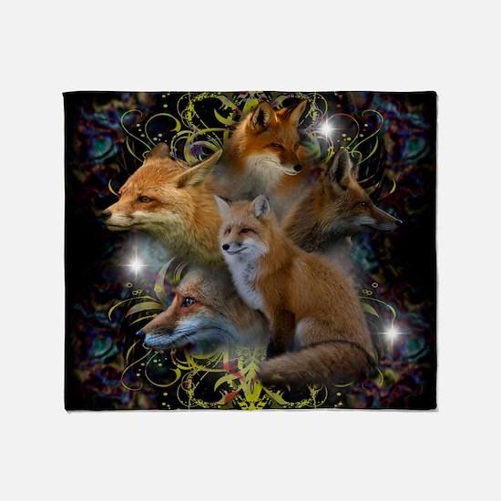 Foxy Throw Blanket