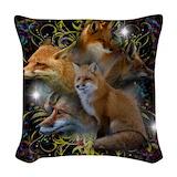 Fox Woven Pillows