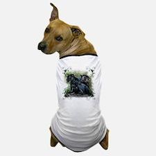 3-black jaguar Dog T-Shirt
