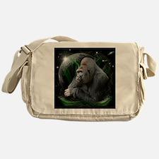 gorilla1black Messenger Bag