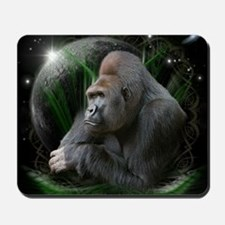 gorilla1black Mousepad