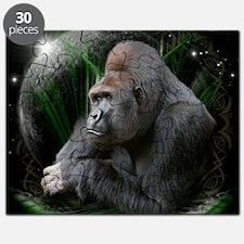 gorilla1black Puzzle