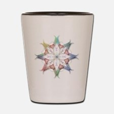 floral print Shot Glass