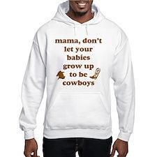 Grow Up Cowboy Hoodie