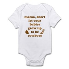 Grow Up Cowboy Infant Bodysuit