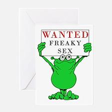 freakysex Greeting Card