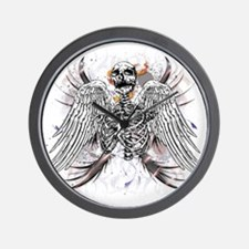 Winged Death Wall Clock