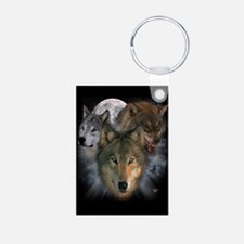 Wolves Aluminum Photo Keychain