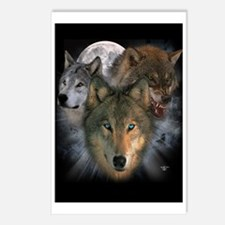 Wolves Postcards (Package of 8)
