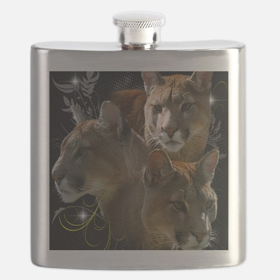 Cougars Flask