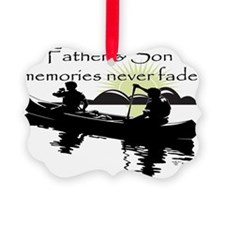 Father and Son Ornament