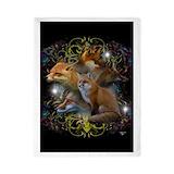Fox art Luxe Twin Duvet Cover