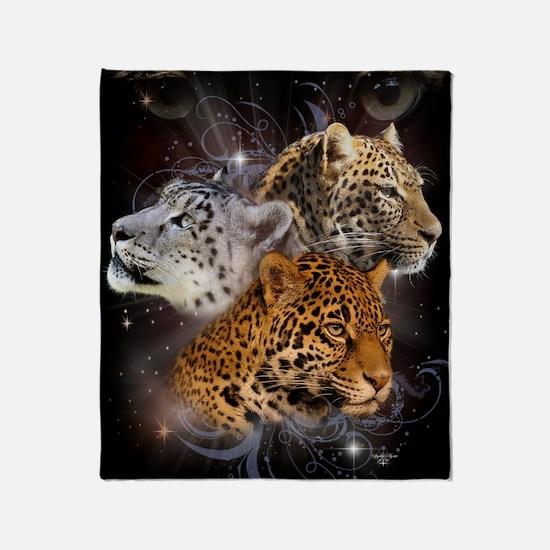 Leopards Throw Blanket