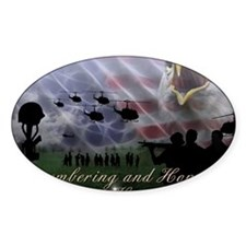 Remember the Heros Decal