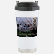 Remember the Heros Stainless Steel Travel Mug