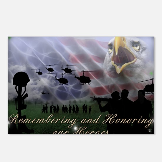 Remember the Heros Postcards (Package of 8)