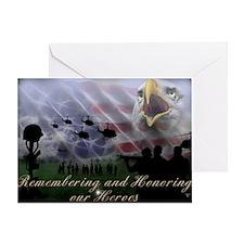 Remember the Heros Greeting Card