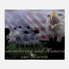 Remember the Heros Throw Blanket