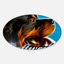 Rottie Decal