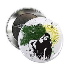 """gorilla sunset 2.25"""" Button"""