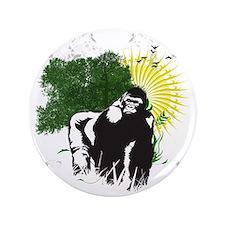 """gorilla sunset 3.5"""" Button"""