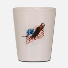 faded glory dark tees Shot Glass