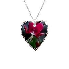 be still my bleeding heart Necklace
