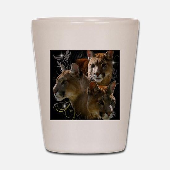 Cougar Shot Glass