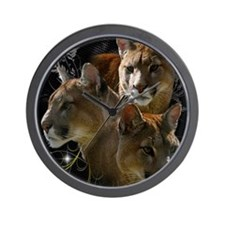 Cougar Wall Clock
