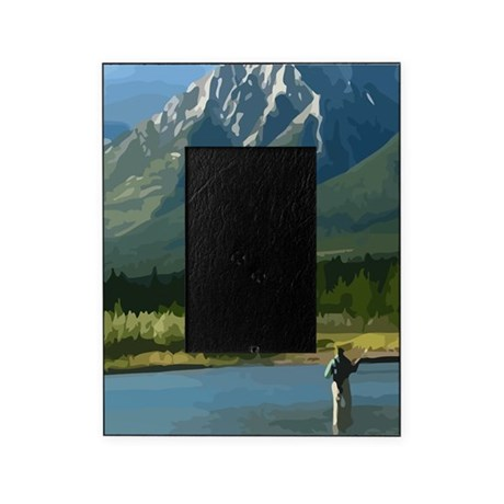 Fly fishing picture frame by admin cp6206939 for Fishing picture frame
