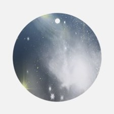 Galactic View Round Ornament
