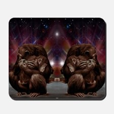 Chimpanzee Love Mousepad