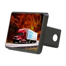 hells highway Large Hitch Cover