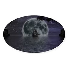 midnight cruise Large Decal