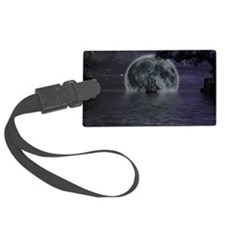 midnight cruise Large Luggage Tag
