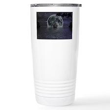 midnight cruise Large Thermos Mug