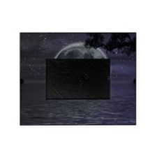 midnight cruise Large Picture Frame