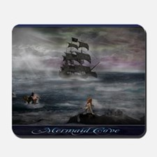 Mermaid Cove Large Mousepad