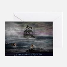 Mermaid Cove Large Greeting Card