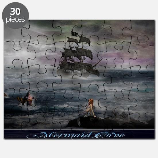 Mermaid Cove Large Puzzle