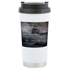 Mermaid Cove Large Thermos Mug