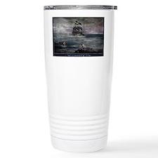 Mermaid Cove Large Travel Mug