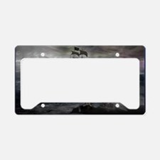 Mermaid Cove Large License Plate Holder
