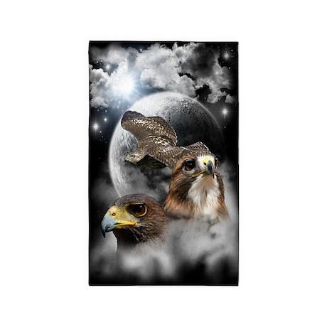 Hawks Large 3'x5' Area Rug