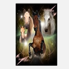 Horses Large Postcards (Package of 8)
