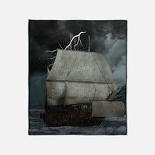 Story Seas Throw Blanket