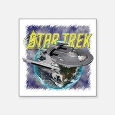 "Star Trek 2 Square Sticker 3"" x 3"""