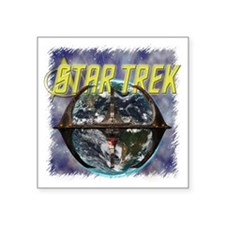 "Star Trek 7 Square Sticker 3"" x 3"""