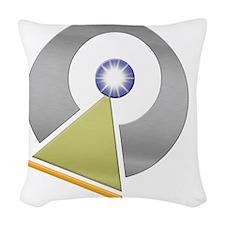 Vulcan IDIC emblem Woven Throw Pillow