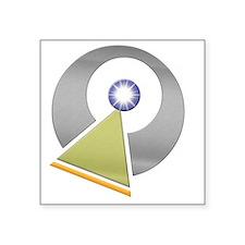 "Vulcan IDIC emblem Square Sticker 3"" x 3"""